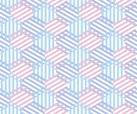 Seamless striped pattern. Fun and simple summer pattern of stripes. Rose motif for surface design, wallpapers, pattern fills, web page backgrounds, surface textures.