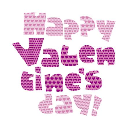 Love you letters vector illustration for card, invitation, poster, header. valentines celebration text. Illustration