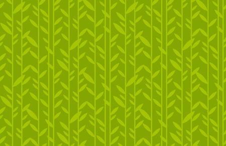 green leaf geometric vintage seamless pattern. simple retro style stock vector illustration. for card, invitation, print and web projects.