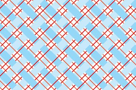 checkered seamless vector pattern. stock vector seamless plaid coarse vintage motif Illustration