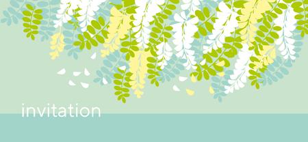 アカシア春花のデザイン要素。ヘッダー、カード、招待状、ポスター、カバー、その他のウェブや印刷デザインプロジェクトのためのテンダーミモザモチーフ。ストックベクトルのイラスト。 写真素材 - 102802683