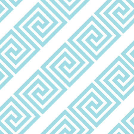 Greek style meander geometric seamless pattern. Simple fabric background for wrapping paper, fabric, surface design Illustration