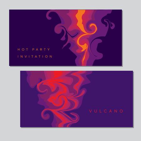 Forma abstracta de humo de narguile para encabezados, tarjetas, invitaciones, carteles, portadas y otros proyectos de diseño web e impreso