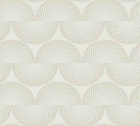 Pale natural linen color fabric texture seamless pattern. Stock Illustratie
