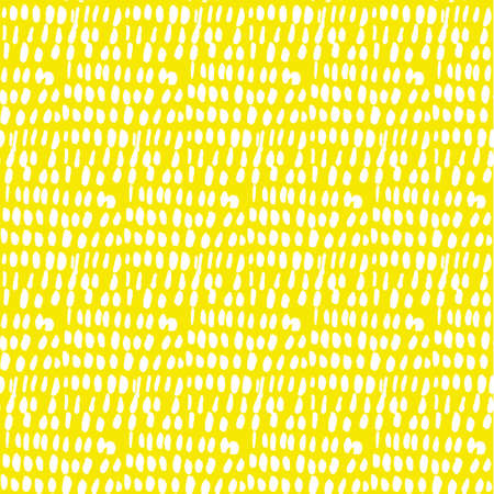 Sunny summer sketch background. Naive hand drawn doodle seamless pattern. Brush stroke simple shapes repeatable motif. Ilustrace