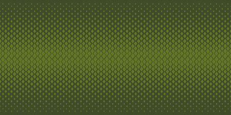 Abstract geometric degrade seamless pattern. Repeatable border motif with small geometry shapes with density gradient effect. design element for background, header, cover.