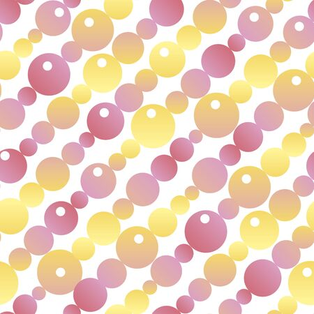 Pastel color gradient geometric seamless pattern for background, fabric, textile, wrap, surface, web and print design. Naive yellow and pink colors rapport.