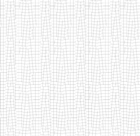 Shift and error geometric net seamless pattern for background, wrap, fabric, textile, wrap, surface, web and print design. Modern geometric squire plaid line vector repeatable motif 