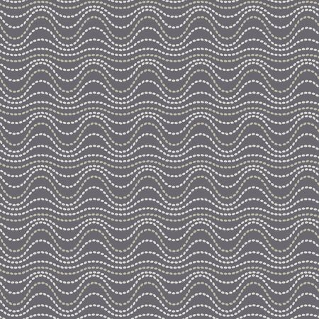 Wavy lines rice seeds tribal style seamless pattern for background, fabric, textile, wrap, surface, web and print design.