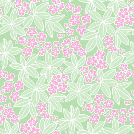 Pink Plumeria flowers in romantic mood seamless pattern for background, fabric, textile, wrap, surface, web and print design. Tropical foliage and floral vector tile rapport.