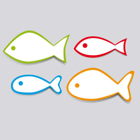 Simple vector fish Stock Vector - 12289912