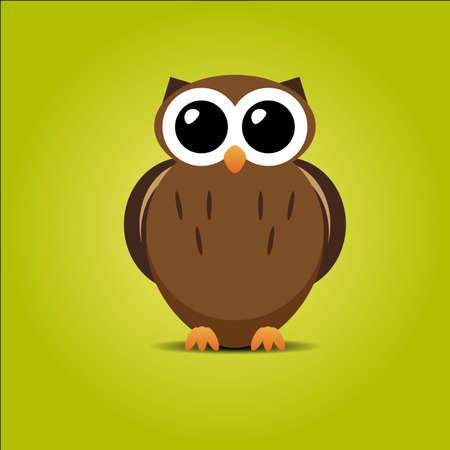 Cute vector owl