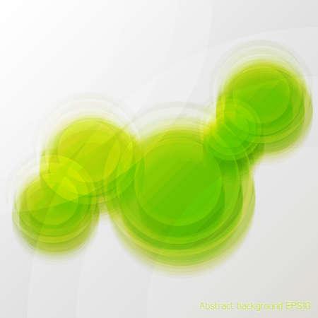 Grüne Vektor abstrakte Unschärfe Glas-Hintergrund Vektorgrafik