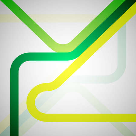 Green vector abstract retro background