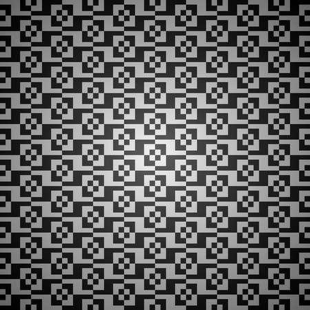 黑色和白色矢量抽象的無縫背景圖案 向量圖像