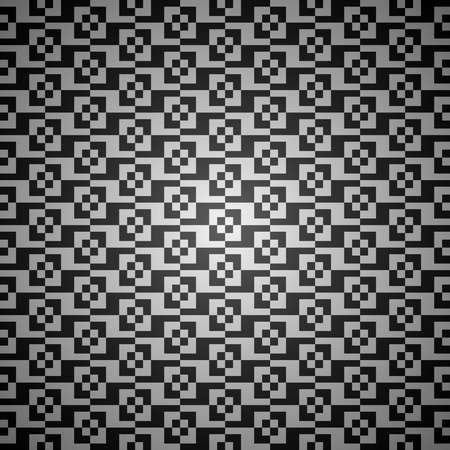 Black and white vector abstract seamless background pattern