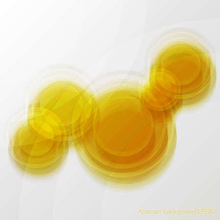 Orange Vektor abstrakte Unschärfe Glas Hintergrund