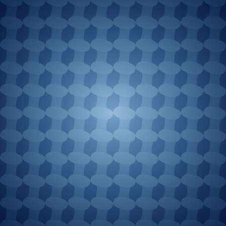 elipse: Blue seamless abstract vector background pattern