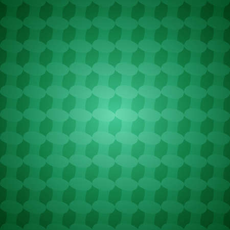 elipse: Green seamless abstract vector background pattern