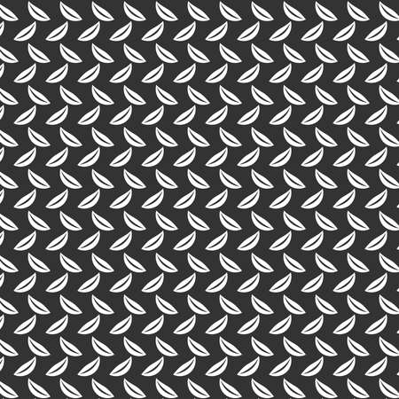 Gray vector abstract floral leaf background pattern