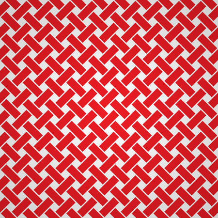 Red vector simple woven background pattern
