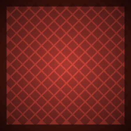checked background: Red vector retro background