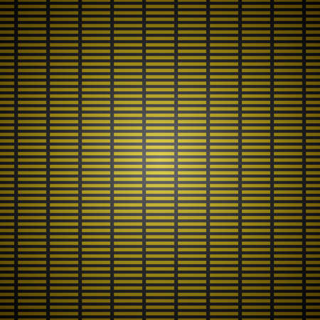 Gold seamless abstract vector background pattern Illustration