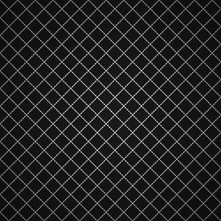黑色和白色乾淨的矢量十字繡對角線背景圖案