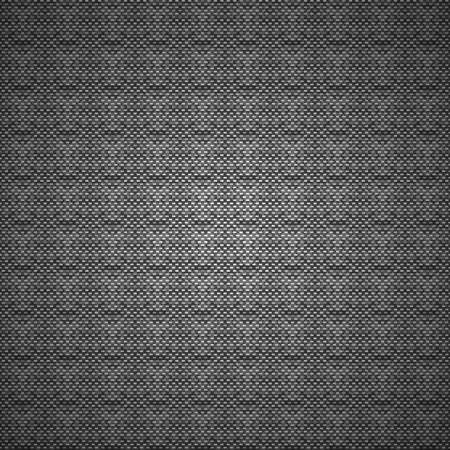 Black and white vector carbon or cloth background pattern texture Illustration
