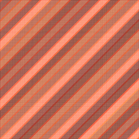 Red clean vector diagonal stripe background pattern on cloth texture