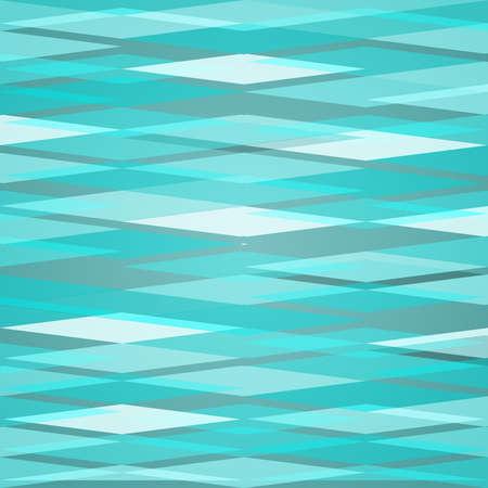 diamond background: Turquoise clean vector isometric horizontal diamond background