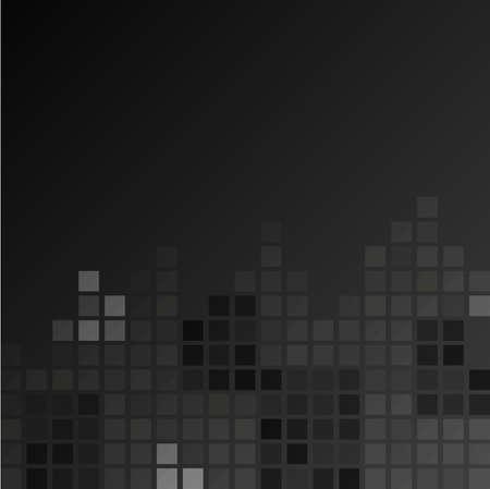 Dark squar clean background with gradient