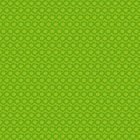 Green clean small explosions seamless diagonal backgroound pattern Vector