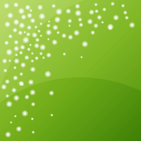 Green clean moder background with shining stars