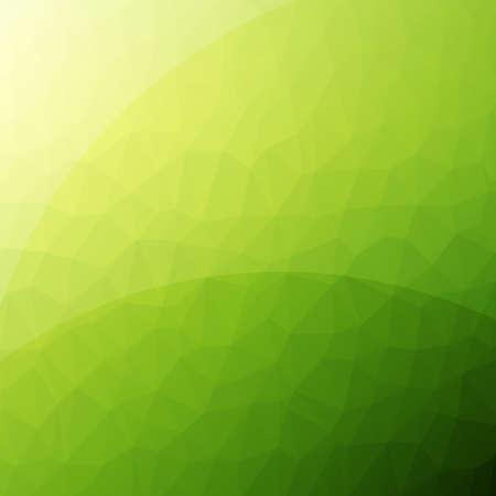 Zielona czysty, nowoczesny low poly tle z refleksji Ilustracje wektorowe