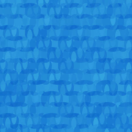 Blue clean rounded shape background pattern