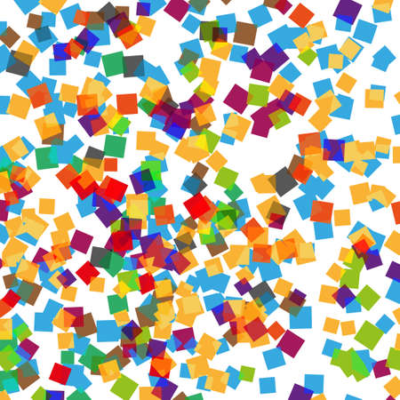 Color clean modern square chaos background