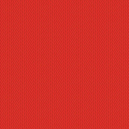 Red clean modern seamless knitted background pattern