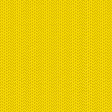 Yellow clean modern seamless knitted background pattern Illustration