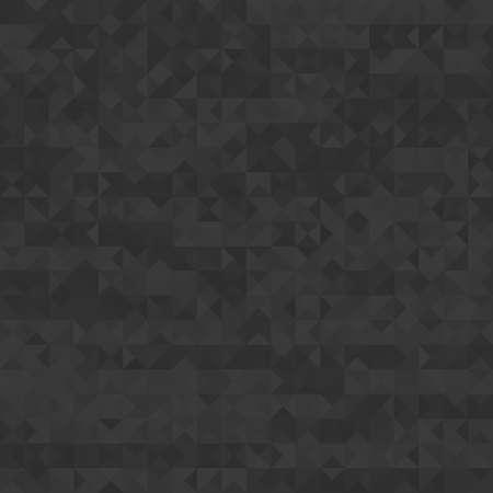 Dark clean seamless modern triangle background pattern Illustration