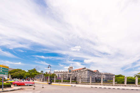 CUBA, HAVANA - MAY 5, 2017: View of Castillo de la Real Fuerza. Copy space for text Editorial