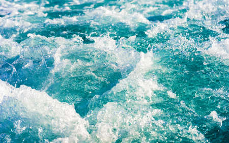 Zeeblauw zoet oceaanwater, Male, Maldiven. Detailopname