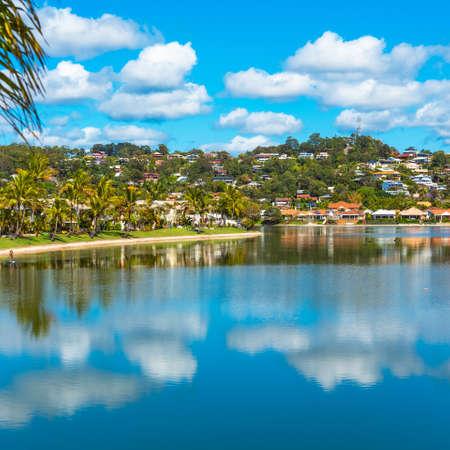 View of the coastline, Gold Coast, Queensland, Australia