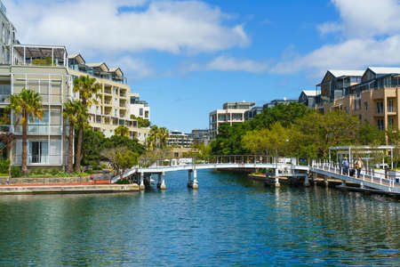Buildings on the waterfront of Victoria & Alfred, Cape Town, South Africa