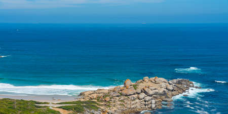 Llandudno with the famous Nude Beach near the City of Cape Town in South Africa.