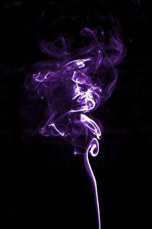 Purple Smoke 版權商用圖片