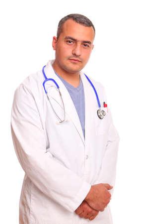 Portrait of doctor in laboratory Stock Photo - 7526487