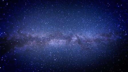 Milky Way in the heavens, photograph Archivio Fotografico