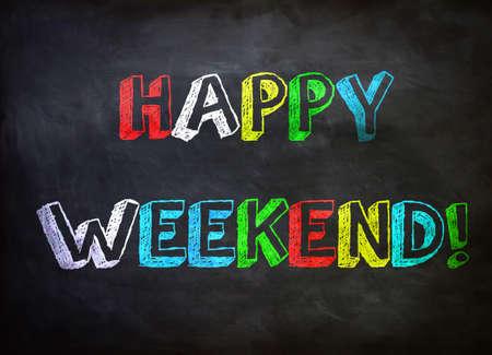 Happy Weekend 免版税图像 - 28687291