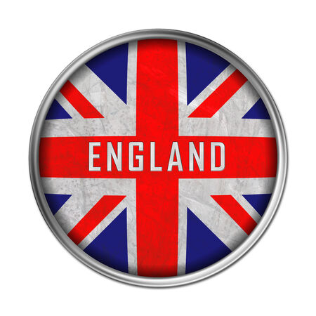 England flag button photo